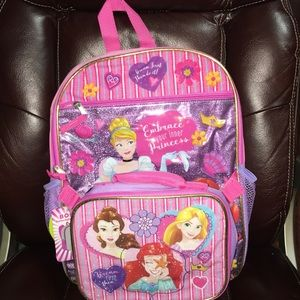Disney Accessories - PRINCESS BACKPACK NEW